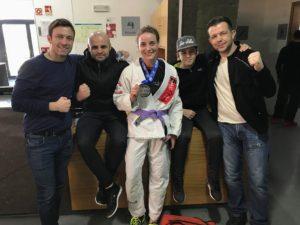 Silver at the European IBJJF Jiu-Jitsu Championship 2018 in